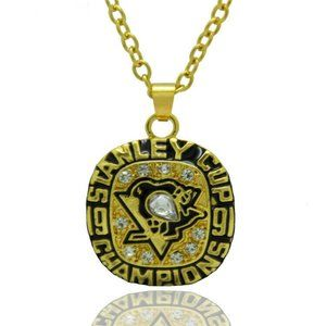 USA Pittsburgh Penguins 1991 Pendant Necklace